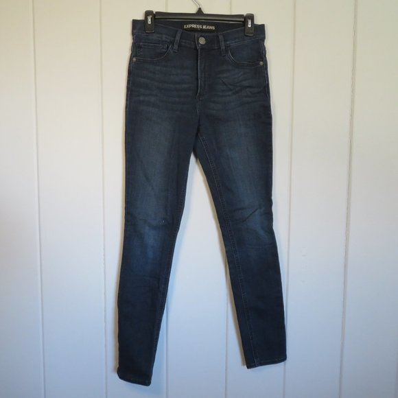 Express Jeans Supersoft High Rise Legging - Size 6